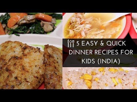 DINNER IDEAS for Kids 2018 | INDIA