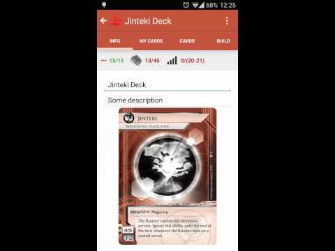 Netrunner DeckBuilder for Android Promo