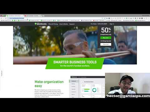 QuickBooks Online 2018 Tutorial: Introduction on how to learn QuickBooks with YouTube videos