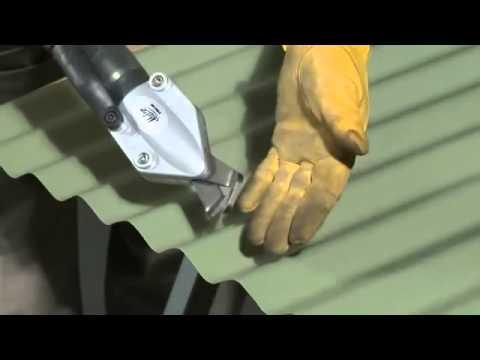 Malco TSCM Corrugated Metal Cutting Tool