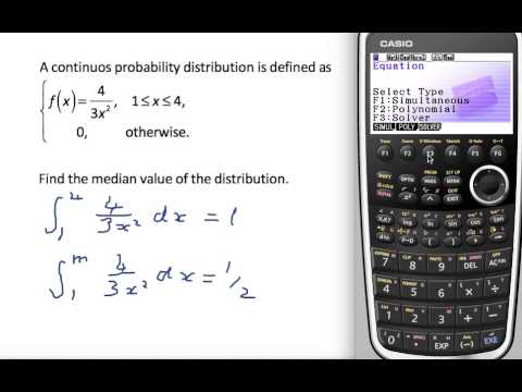 Continuos finding median