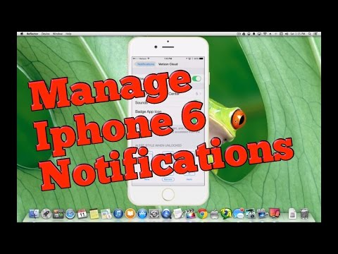 How to Manage Notifications on Iphone 6