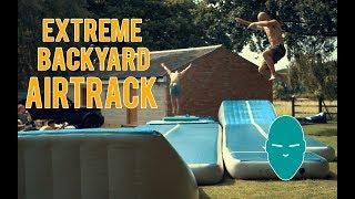 Extreme Backyard Airtrack | Damien Walters