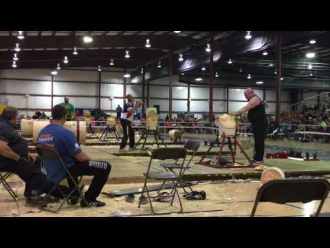 5.21.17 US Woodchopping Champs Standing