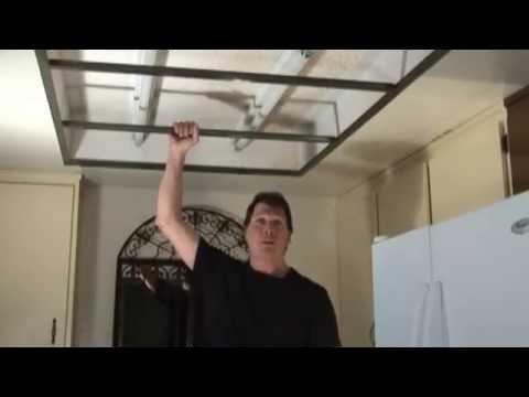 Remove Old Flourescent Lights