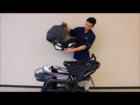 Attaching Graco® Infant Car Seat to Graco® Ready2Grow™