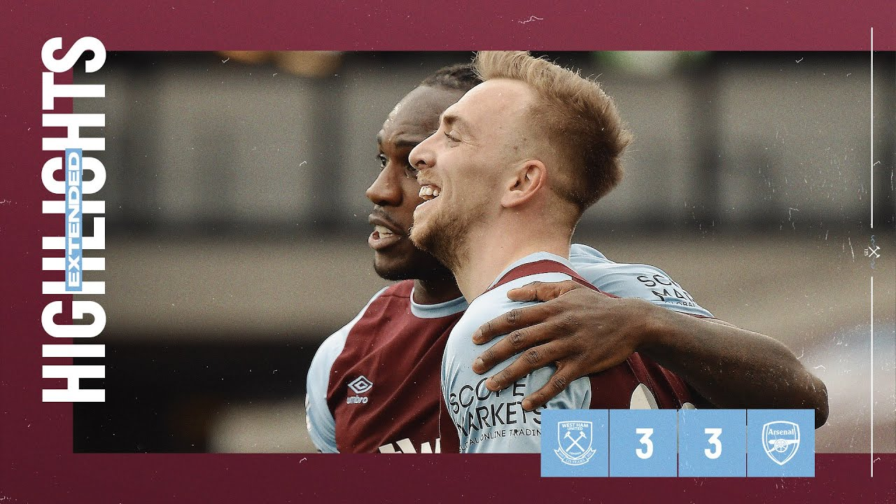 EXTENDED HIGHLIGHTS | WEST HAM UNITED 3-3 ARSENAL