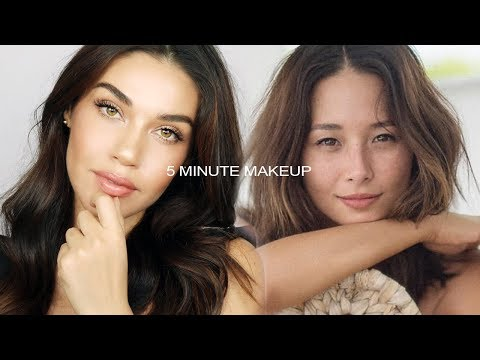 Easy 5 Minute Everyday Makeup Tip with Eman + Aja Dang
