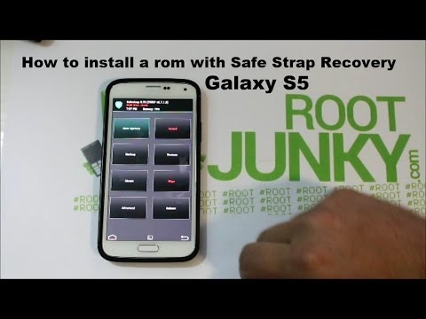 Galaxy S5 custom rom install with Safe strap recovery on Verizon or Att