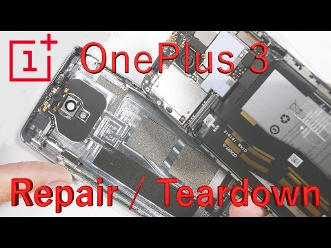 OnePlus 3 Teardown, Screen Replacement, Battery fix