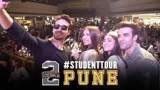 SOTY2 | Student Tour - Pune | Tiger Shroff | Tara | Ananya | Punit Malhotra