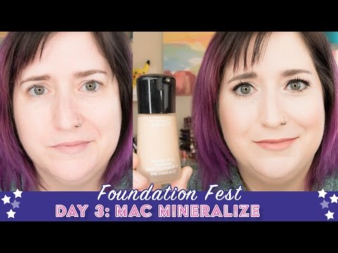 FOUNDATION FEST MAC Mineralize | Pale, Dry Skin Over 40