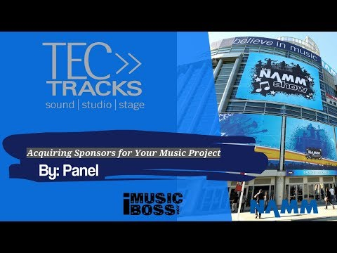 Acquiring Sponsors for Your Music Project pt 1