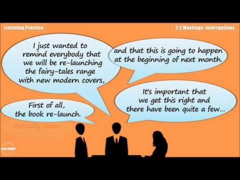 Meetings: Interruptions