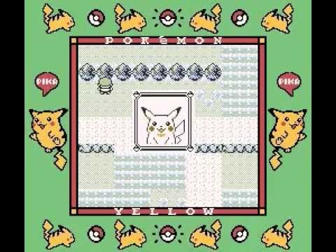 Pokemon Yellow Version - Tricks/Tips: Potion Trick/Pikachu loves you faster trick