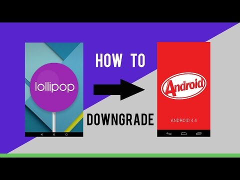 How to Downgrade Moto G 2nd Gen Xt1068 from Lollipop to Kitkat !