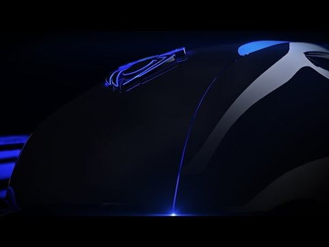 Spider Optical Mouse Product Animation