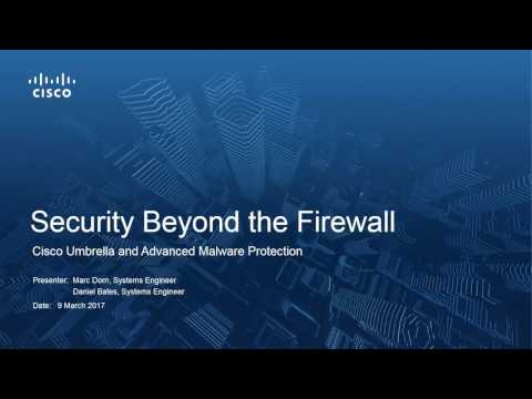 Security Beyond The Firewall with Cisco