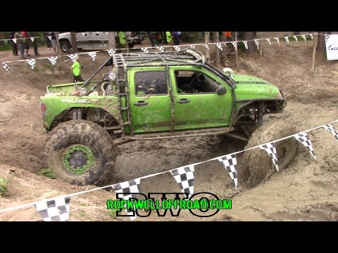 SUPERCHARGED MONSTER CHEVY COLORADO DIGGING DEEP!!