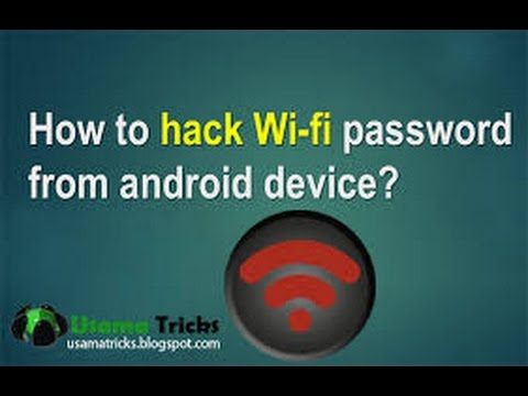 How to get the password of any wifi
