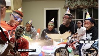SURPRISED JAY WITH AH DIRTBIKE FOR HIS BIRTHDAY!