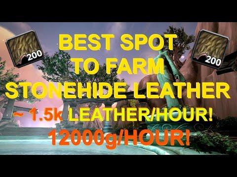 Best Spot To Skin In Legion! (12k/h)