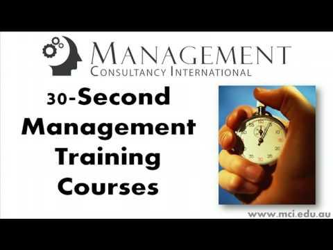 Employee Motivation - 30-Second Management Training Course!