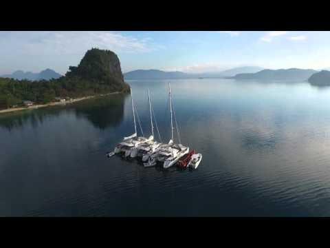 Malapacao Island at the back of Lagen Island El Nido Palawan Philippines