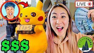 WHO CAN MAKE THE MOST MONEY IN 24 HOURS (#teamtrees CHALLENGE)