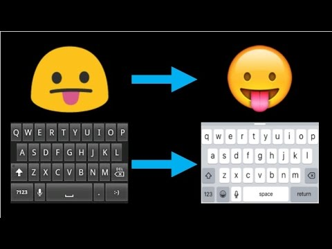 ★ How To Get A iPhone Keyboard For Android NO ROOT  ★