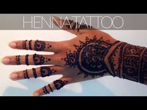 Henna Tattoo Tutorial | plus tips & tricks for a dark stain