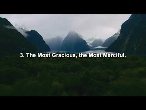 Surah Al Fatiha | beautiful recitation and meaning
