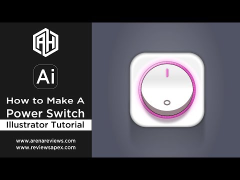 How to Make A Power Switch - Illustrator Tutorial