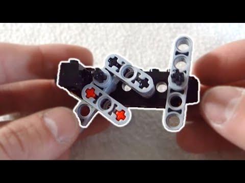Lego Compact Semi Auto Gun Mechanism + Instructions