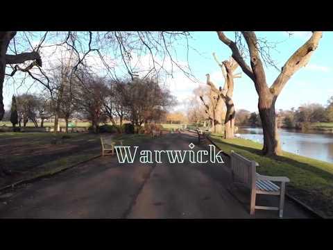 Historic WARWICK CASTLE   Warwick UK   By DJI MAVIC AIR Drone 2018