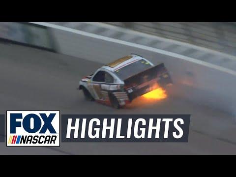 Dale Earnhardt Jr. Hard Crash - Texas - 2014 NASCAR Sprint Cup