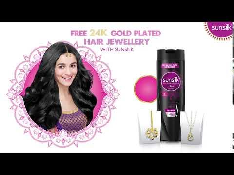 Sunsilk – FREE 24K Gold Plated Hair Jewellery