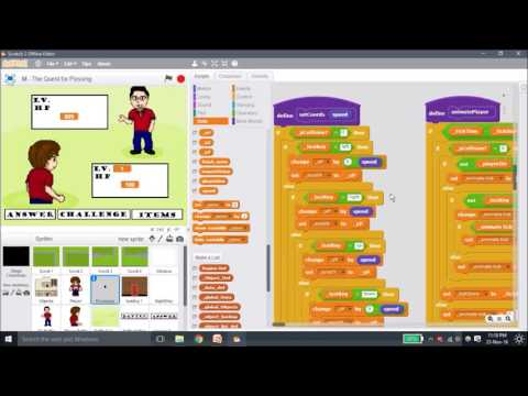 How to make an RPG using Scratch