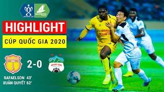 Highlight | DNH Nam Định - Hoàng Anh Gia Lai | Cup Quốc Gia 2020 | Trận Bóng Lịch Sử, HAGL Thua Thảm