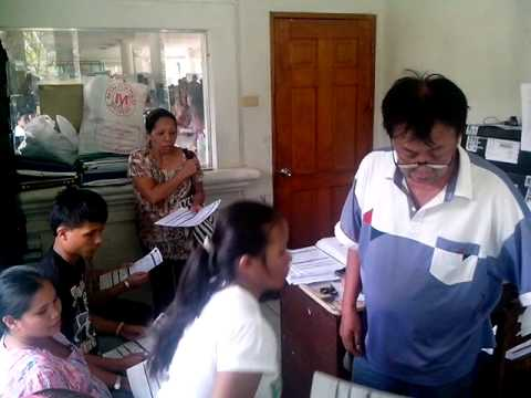 EO Malitbog Barangay and SK Election 2013 Registration