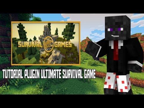 #7 Tutorial Plugins- MiniGame Ultimate SurvivalGames -Server Minecraft [PTBR]