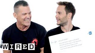 Josh Brolin & Taylor Kitsch Answer the Web