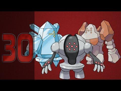 Pokémon Ruby - 30: How to Obtain the Regi Trio! Regirock, Registeel, & Regice