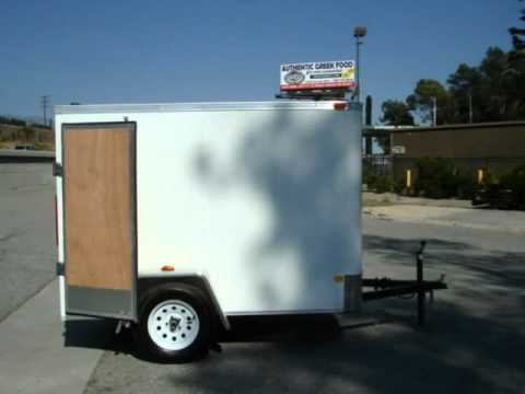 5x8 Enclosed Trailer For Sale / 877-292-4451 / $1395.00