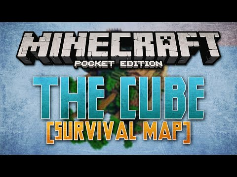 Cube World in MCPE [Survival Map] - Minecraft Pocket Edition