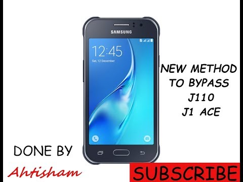 new method to bypass google account on samsung j1 ace
