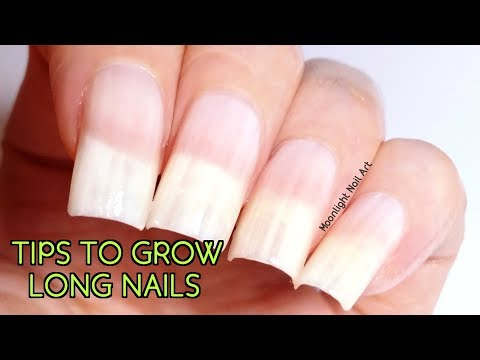 HOW TO GROW LONG NAILS SUPER FAST IN ONE WEEK