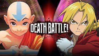 Aang VS Edward Elric (Avatar VS Fullmetal Alchemist) | DEATH BATTLE!