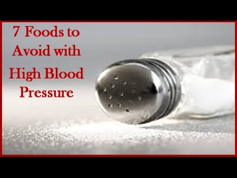 7 Foods to Avoid with high blood pressure