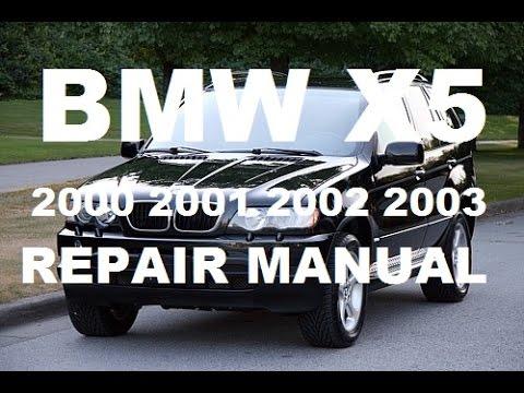 2000 2001 2002 2003 Bmw X5 service repair manual
